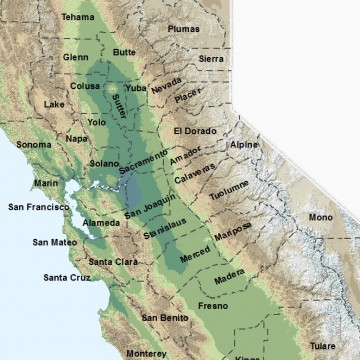 Central California Counties